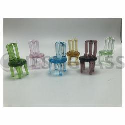 Decoración Muebles de vidrio, vidrio moldeado, hecho a mano artesanía en vidrio, la decoración del hogar, regalo de Navidad, regalo de promoción