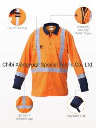 100%хлопок 100% полиэстер нейлон Вся обшивочная ткань ткань Fr одежда куртка для отрасли безопасности единообразных