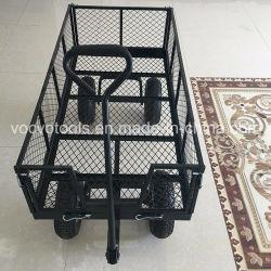 Hot Sale part pousser 4 roues chariot de l'outil de chariot de jardin