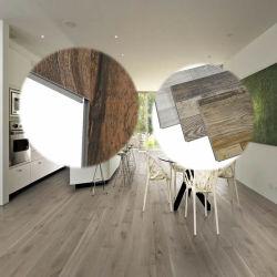 Diseño de madera resistente al agua haga clic en el SPC Lvt Plástico de PVC pisos de vinilo