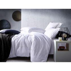 맞춤형 화이트 엠브로이더드 이집트 코튼 침대 시트 홈 침구 (JRD161)