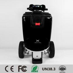Tricycle électrique pliant scooter de mobilité intelligente, véhicules électriques pour les personnes handicapées, plus récent en mode scooter