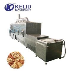Forno a microonde per la sterilizzazione automatica di prodotti da forno industriali