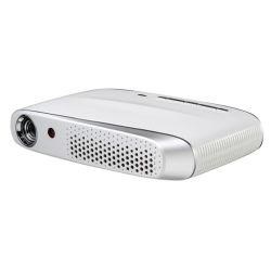 Draagbare LEIDENE van de Projector van WiFi van de Sprekers van de Projector Digitale Wekker