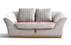 Casa de lujo Muebles de Salón Sofá tela cuero