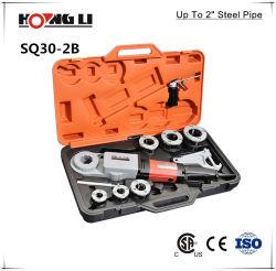 Enhebrador tubo eléctrico portátil con 6pzas Cabezales (SQ30-2B)