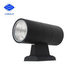 유통업체 프로젝터 알루미늄 벽 램프 실외 벽 조명 블랙 하우스 LED 벽 조명 팬시 조명 10W 14W LED 조명
