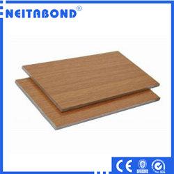インドのための1220*2440mmの装飾のための木カラーアルミニウム合成のパネル