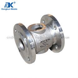 Kundenspezifisches Edelstahl-Ventilgehäuse des Qualitäts-Investitions-Gussteil-ASTM CF8m/304/304L/316/316L für Maschinerie
