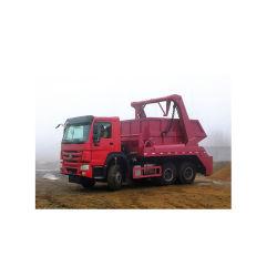 HOWO 6*4 Saltar la basura de la cargadora carretilla carretilla recipiente de residuos.