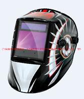 디지털 컨트롤 패널 포함 자동 어두워지는 용접 헬멧