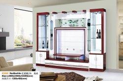 Moderner einfacher Fernsehapparat-Wand-Geräten-Wohnzimmer-Möbel Fernsehapparat-Schrank