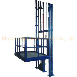 安価な小型貨物リフト材料油圧倉庫単一マスト貨物輸送 商品リフト