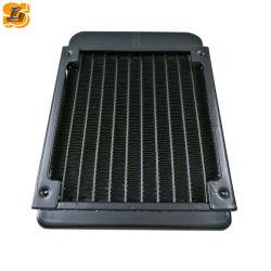 パソコンの卸売のためのファンが付いている120mm水冷却CPUのクーラーの列の熱交換器のラジエーター