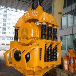 Kraan Type RT-150 Trilhamer voor stalen pijppalen
