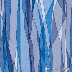 세련된 블루 반투명 사암 아크릴 장식용 패널