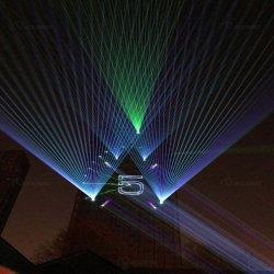 Ganz eigenhändig geschriebes Laserlicht des Laser-Stern-Projektor-22000MW für Stadium