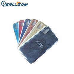 Yerllsom 새로운 양면 스킨 방지 iPhone X 케이스 XR 우븐 가죽 케이스의 보호에 적합합니다 TPU 전화 케이스 Y21040805