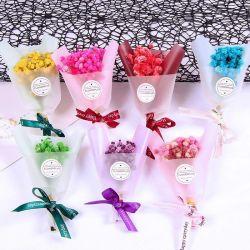 Bella decorazione domestica mini Gypsophila sapone fiore fiori secchi bouquet Regalo