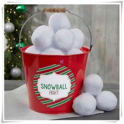 Bola de Nieve de felpa interior lucha buen regalo de Navidad para niños