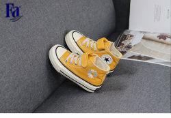 De naar maat gemaakte Schoenen van het Canvas, Toevallige Schoenen/Kinderen van Tennisschoenen/Schoen k1-1-28 van het Jonge geitje