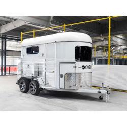Fabricado na China carga grande de alta qualidade 2 Cavalos Cavalos de caminhão de reboque com marcação & RoHS Flutuação