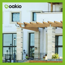 Durável composto de plástico de madeira ecológica WPC Gazebo para Outdoor