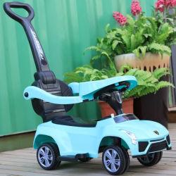 Nuevo tipo de coche de juguete bebé niño viaje en automóvil tienen toldos niños empujar Coche de juguete cómodo de llevar Toy Mini Coche