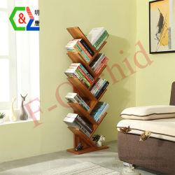 9 prateleiras de madeira com Novo Design / Suportes de exibição do Catálogo de endereços do piso Rack do visor / estante de livros