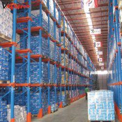 Depósito de almacenamiento de acero laminado en frío sistema de estanterías para estanterías