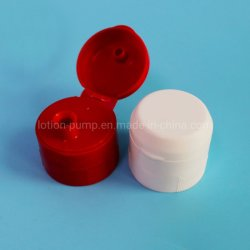 Licor de tornillo de color de grado alimentario personalizado de alta calidad Ronda Flip Top Tapa de plástico Bottle Cap