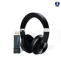 2020 il nuovo arrivo 2 in 1 cuffia avricolare di Tws Bluetooth + il trasmettitore senza fili V5.0 di Bluetooth si raddoppiano cuffia stereo di Bluetooth che ascolta il suono della TV con la cuffia avricolare di Bluetooth