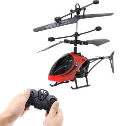 حارّ 2 [رموت كنترول] طائرة مع ضوء تحطّم - مقاومة [رموت كنترول] هليكوبتر نموذج لعبة إنهيار