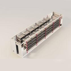 20 GP 40 HQ مصنع نظام زراعة الحاويات الذكية المنقولة مصنع الصوبات الخضراء