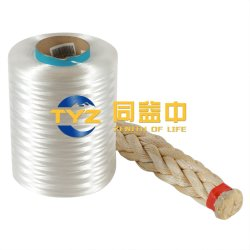 ロープの/BraidアプリケーションTyzPEC036のためのUHMWPEのファイバーかヤーンDtex110
