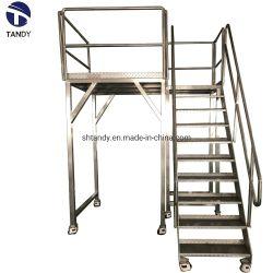 Plate-forme de travail en acier inoxydable pour soutenir peseur Multihead