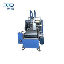 De bonne qualité du papier de silicium rembobineur entièrement automatique avec l'application des étiquettes automatiques