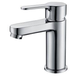 Бассейна струей заслонки смешения воздушных потоков в Chrome, одиночный рычаг ванная комната под струей горячей воды