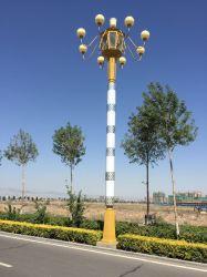 Flame-Shape Lustre Flower-Shape Style China lâmpada antiga bela rua tradicional pólo luz de lâmpadas para praças Villas
