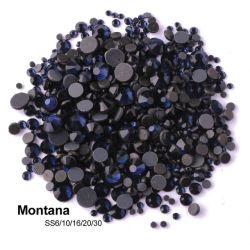 Kingswick Hotfix Rhinestones Flatback Montana de vidrio cristales DMC de alta calidad para vestir
