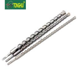 Ориентированная на поворотных режущих пластин S4 флейта SDS Plus электрический ударный съемник сверло для бетона и камня