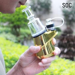 Cera melhor aparelho de fumar de vapores de água do tubo de vidro do vaporizador Caneta Hookah ervas secas