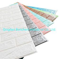 Venta caliente de la pared de papel tapiz de espuma de recubrimiento para paredes interiores