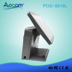 Sistema tutto di posizione del ristorante della visualizzazione di posizione in un cassiere di posizione dello schermo di tocco