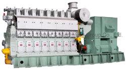 34/45 (48) generatore azionato da motore, diesel, HFO, gas naturale, olio per pneumatici, Gruppo elettrogeno a doppio combustibile e parti di ricambio
