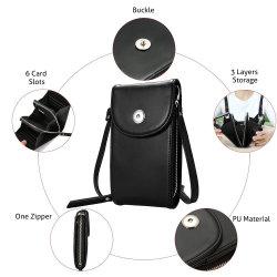 [كروسّبودي] [سلّ فون] حقيبة [سلّفون] محفظة محفظة