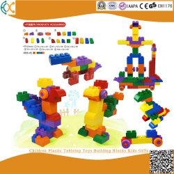 Kind-Plastiktischplatte spielt Baustein-Kind-Geschenke