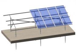 Оцинкованной стали солнечная панель крыши монтажных кронштейнов