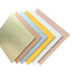 El panel de pared exterior de aluminio Panel Compuesto de plástico de los diseños de los materiales de construcción
