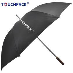 Fördernder im Freien bunter automatischer Golf-Regenschirm mit Firmenzeichen-Drucken